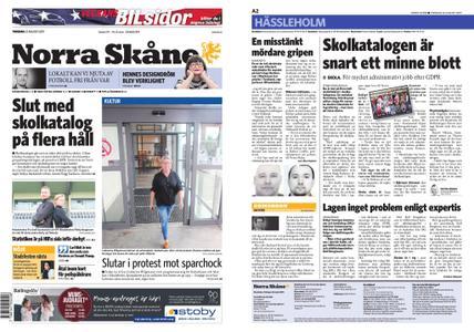 Norra Skåne – 22 augusti 2019