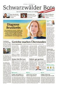Schwarzwälder Bote Blumberg - 11. September 2019