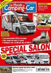 Le Monde du Camping-Car - octobre 2018