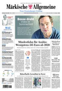 Neue Oranienburger Zeitung - 14. Mai 2019