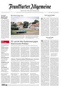 Frankfurter Allgemeine Zeitung - 15 August 2020