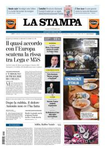 La Stampa Torino Provincia e Canavese - 15 Dicembre 2018