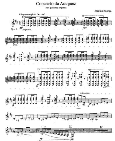 Classical Guitar Score