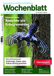 Bayerisches Landwirtschaftliches Wochenblatt Oberbayern - 24. Juni 2021