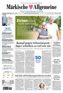 Neue Oranienburger Zeitung - 11. Oktober 2018