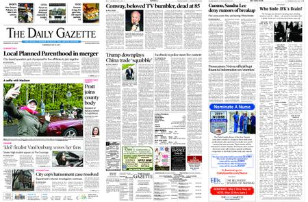 The Daily Gazette – May 15, 2019