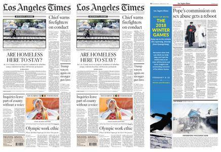 Los Angeles Times – February 21, 2018