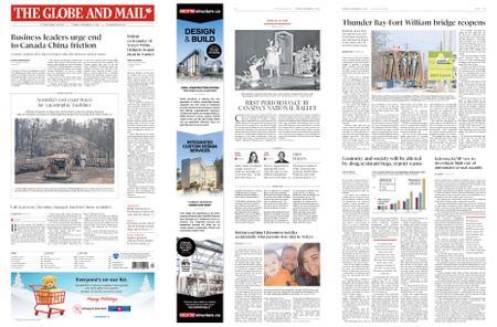 The Globe and Mail – November 12, 2019