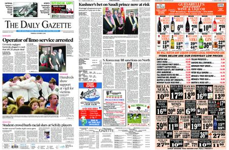 The Daily Gazette – October 11, 2018