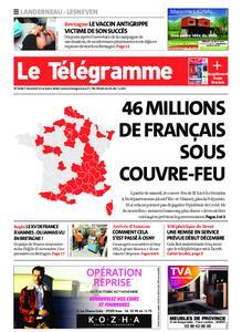 Le Télégramme Landerneau - Lesneven – 23 octobre 2020