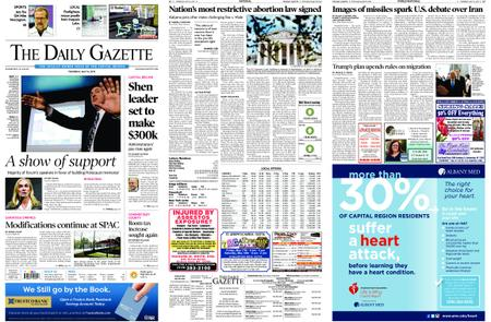 The Daily Gazette – May 16, 2019