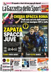 La Gazzetta dello Sport Sicilia – 31 gennaio 2019