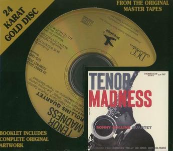 Sonny Rollins Quartet - Tenor Madness (1956) [DCC 24 KT Gold CD, 1996]