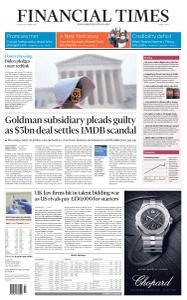 Financial Times Middle East - October 23, 2020