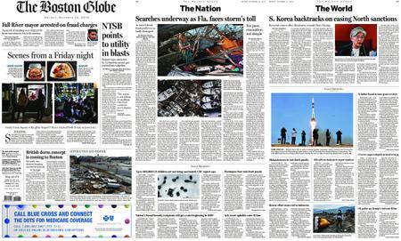 The Boston Globe – October 12, 2018