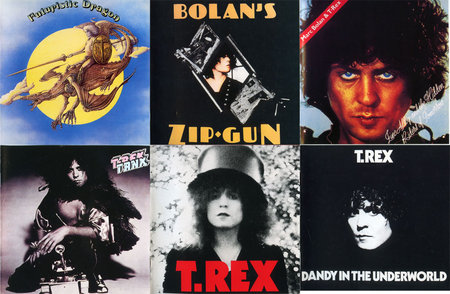 T. Rex - 6 Albums. Remastered, Bonus Tracks (1972 - 1977) [1994, Edsel Records] Re-up