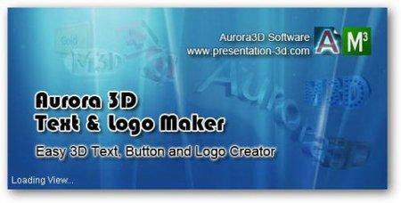 Aurora 3D Text & Logo Maker 16.01.07 Multilangual Portable