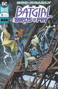 Batgirl and the Birds of Prey 018 2018 2 covers digital