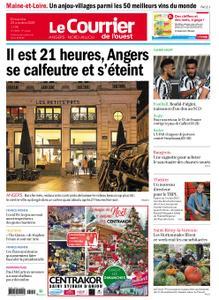 Le Courrier de l'Ouest Angers – 25 octobre 2020