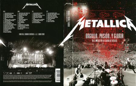 Metallica - Orgullo, Pasión, y Gloria: Tres Noches en la Ciudad de México (2009) [2CD + 2DVD + Blu-ray]