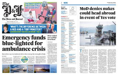 The Press and Journal Moray – September 03, 2021