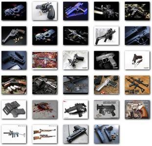29 HQ Images of Guns - Set 2