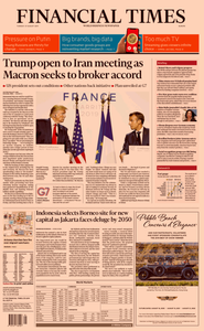 Financial Times Europe – 27 August 2019
