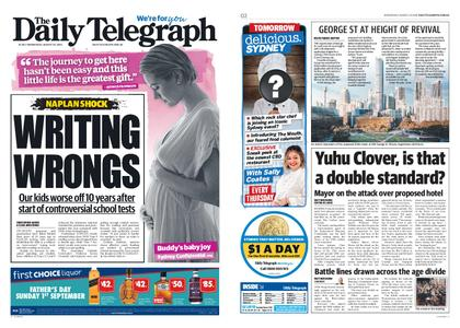 The Daily Telegraph (Sydney) – August 28, 2019