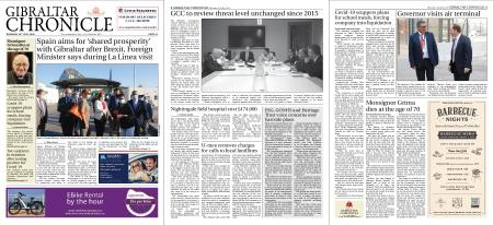 Gibraltar Chronicle – 23 July 2020