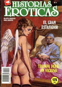 Historias Eróticas #6 (de 27): Trampa Para Un Vicioso / El Gran Estafador