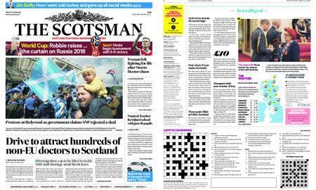 The Scotsman – June 15, 2018