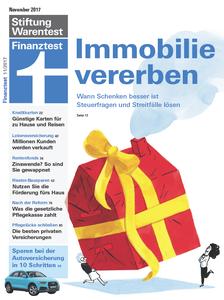 Finanztest No. 11 - November 2017