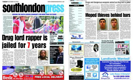 South London Press – October 16, 2018