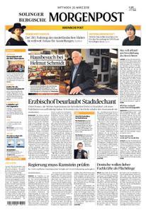 Solinger Morgenpost – 20. März 2019