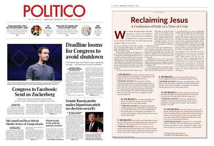 Politico – March 21, 2018