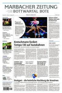 Marbacher Zeitung - 09. Oktober 2019