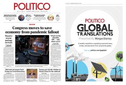 Politico – March 26, 2020