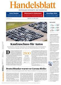 Handelsblatt - 20 April 2020