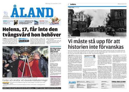 Ålandstidningen – 18 november 2019