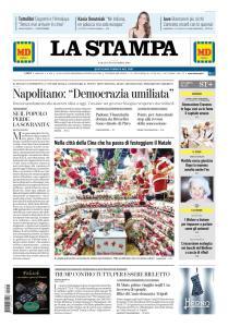La Stampa Torino Provincia e Canavese - 22 Dicembre 2018
