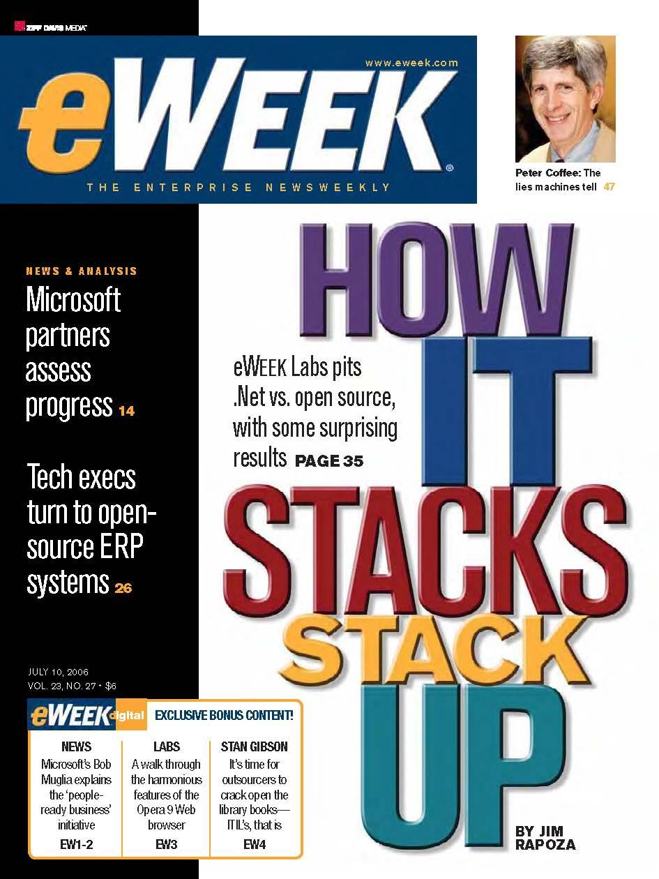 eWeek: July 10, 2006