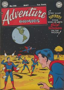 Adventure Comics 140 DC May 1949 c2c Superscan