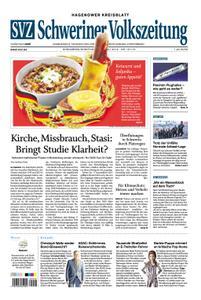 Schweriner Volkszeitung Hagenower Kreisblatt - 13. Juli 2019