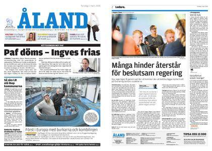 Ålandstidningen – 01 mars 2018
