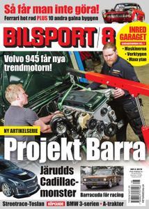 Bilsport – 23 maj 2019