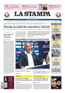 La Stampa Torino Provincia e Canavese - 14 Luglio 2019