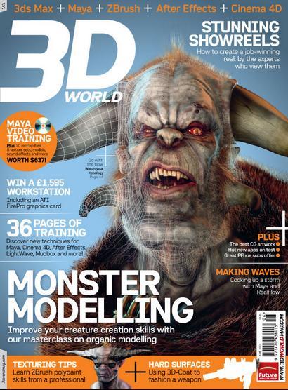3D World Magazine: Issue 143 (Tutorial Video + PDF) / AvaxHome