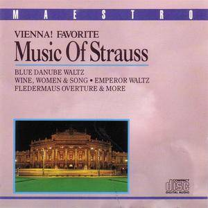 Vienna Volksopera Orchestra - Vienna! Favorite Music Of Strauss (1989) {Maestro/Essex Entertainment Inc.} **[RE-UP]**