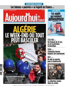 Aujourd'hui en France du Samedi 2 Mars 2019