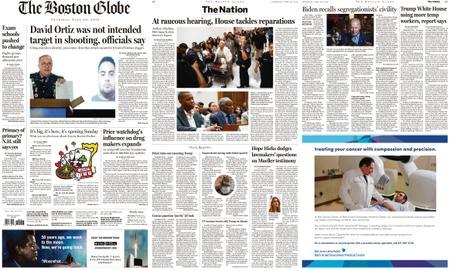 The Boston Globe – June 20, 2019